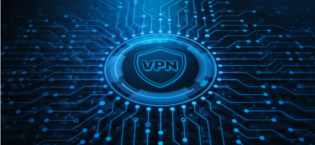 VPN blue black